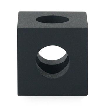 Cube_Acciaio nero