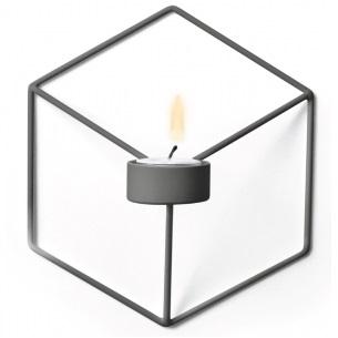 POV Candleholder W_Grau