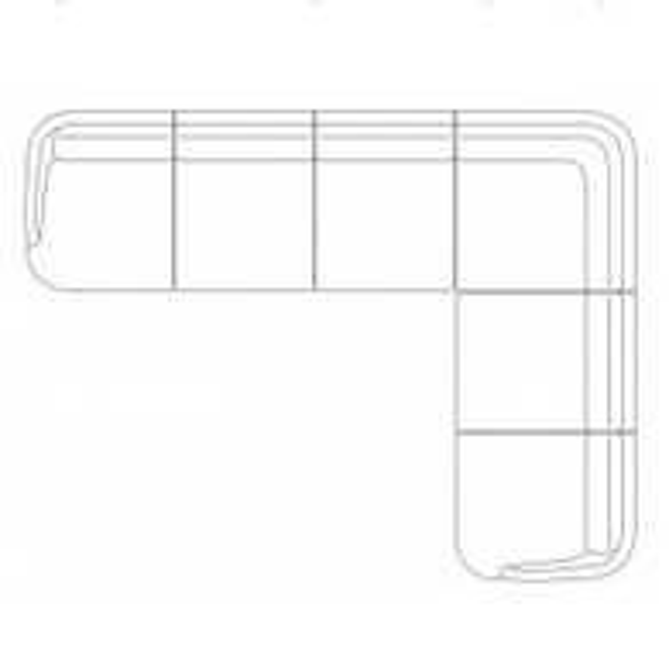 JH610_314,5 x 242,5 x H 79 cm (6 Places + Angle)