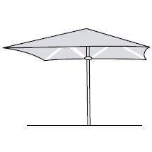 Basic 190 Square_190 x 190 cm