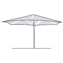 Basic 220 Hexagonal_220 cm