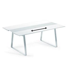Table Extensible Extrados Medium cm 182/240x110x74