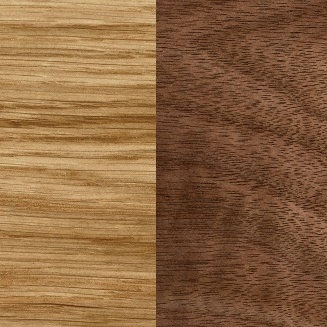 Lacquered oak/Lacquered Walnut