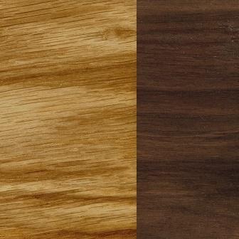 Oil treated oak/Oil treated Walnut