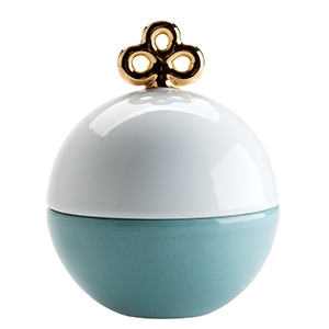 Magic ball box Vert & Blanc
