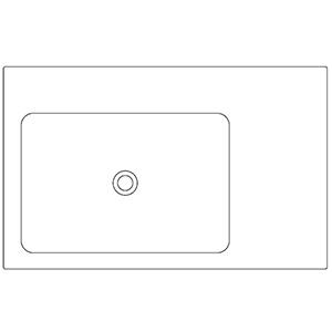 Profondità 50 cm_ invaso a sinistra