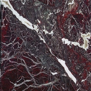 Satined Rosso Rubino Marble