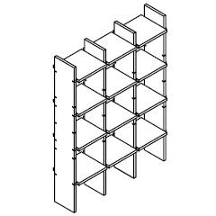 FNP X 5_76,1 x 21 x H 103,2 cm