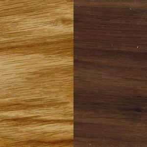 Oil treated oak / Oil treated Walnut