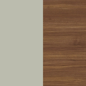 Silk Gray / Canaletto walnut