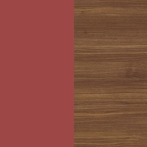 Red / Canaletto walnut