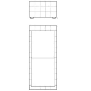 Single_low headboard