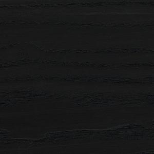 Schwarze Asche