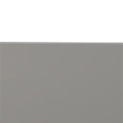 blanc poli/gris clair