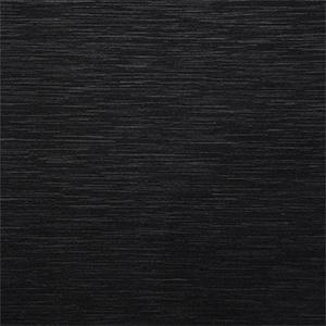 Aluminium anodisé brossé noir
