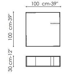 Folio 100x100 cm