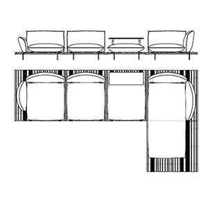 Apsara 7_ 440 x 244 x H 70 cm