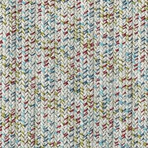 Entrelacées polyoléfines multicolores
