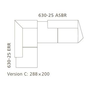 Versione C_ 288 x 200 cm