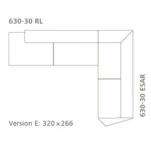 Versione E_ 320 x 266 cm