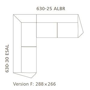 Versione F_ 288 x 266 cm