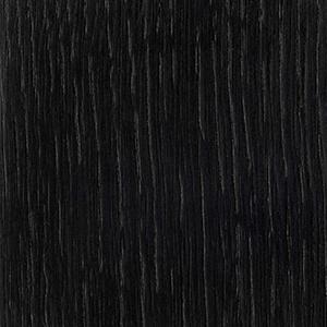Schwarz lackierte Eiche