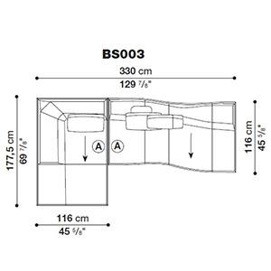 Bend-Sofa_ BS003