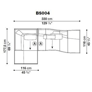 Bend-Sofa_ BS004
