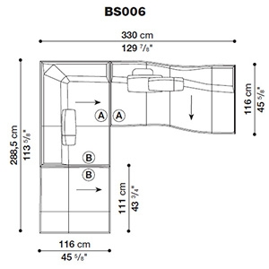 Bend-Sofa_ BS006