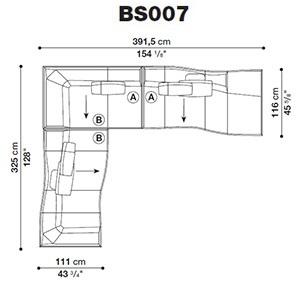 Bend-Sofa_ BS007