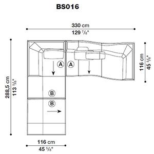 Bend-Sofa_ BS016