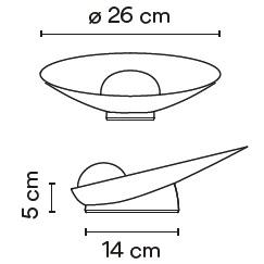 7402_ ø 26 cm - 14 x H 5 cm