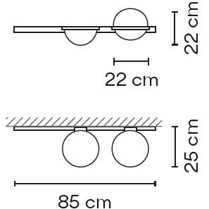 3702_ 85 x 25 cm