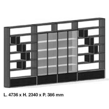 System SY18-15_ 473.6 x 38.6 x H 234 cm
