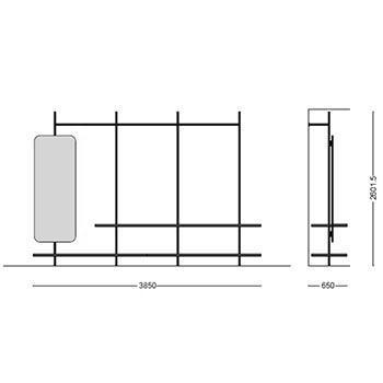 MS-113_ 385 x 65 cm