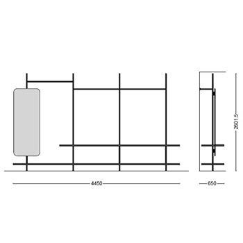 MS-115_ 445 x 65 cm
