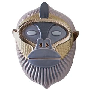 Kandti Mask A/22/M/61+90 Lilac Grey, Sugar Paper,Black Matt Gold,Glossy Bronze