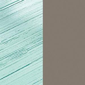 Transparentes DV-Glas / Mattes Titan