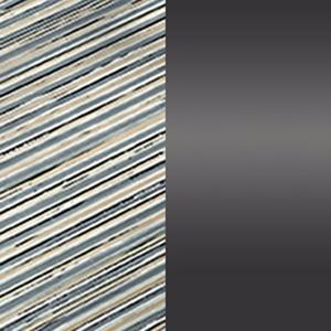 Farbiges DV Glass / Glänzendes schwarzes Nickel