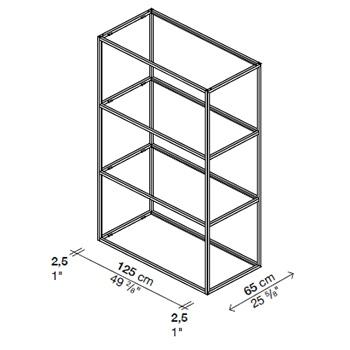 Regoli 4_ 125 x 65 x H 200 cm