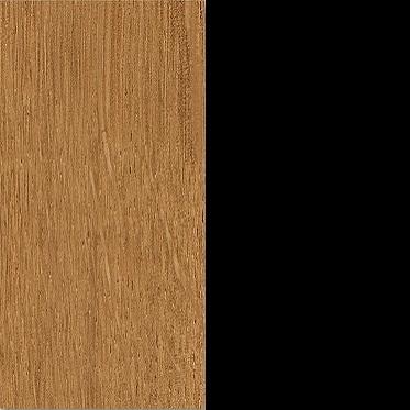 Natural oak / chocolate