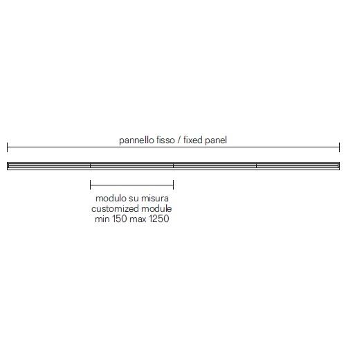 Spazio 1_Middle Room Divider (min 150 cm - max 12,5 m)