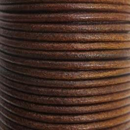 Seil aus Cognac Sattelleder