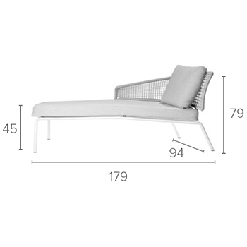 With right armrest