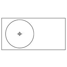 Round_90 x 45 x H 10 cm (LC 491 SX)