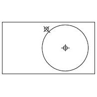 Round_80 x 45 x H 10 cm (LC 581 DX)