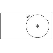Round_90 x 45 x H 10 cm (LC 591 DX)