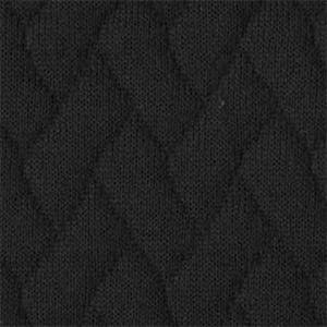 Dedar®_ tricot tressage nero