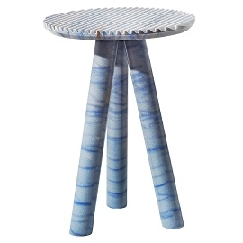 Rabbet_Azul Macaubas (Ø 40 x H 55 cm)