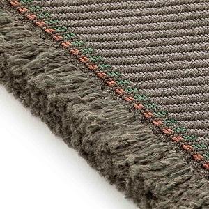 Teppich_ Diagonal aloe-opal